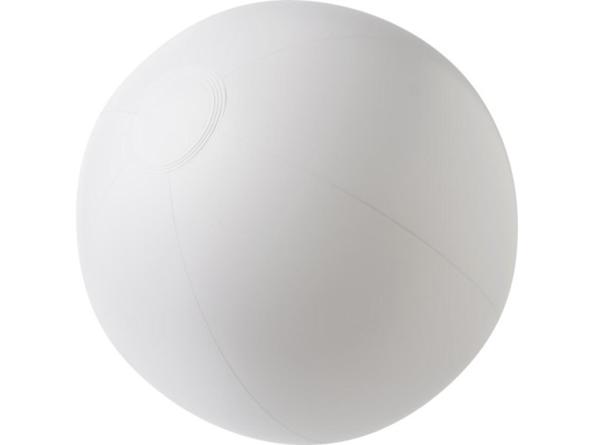 Aufblasbarer Wasserball aus PVC – Weiß bedrucken, Art.-Nr. 002999999_4188