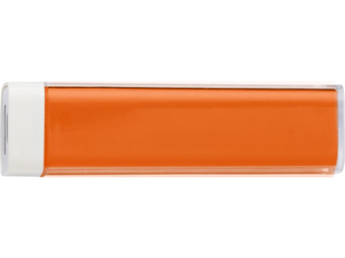 Powerbank 'Slimline' aus ABS-Kunststoff – Orange bedrucken, Art.-Nr. 007999999_4200
