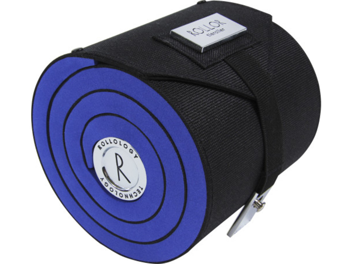 Rollor® Krawattenrolle aus Polyester – Blau bedrucken, Art.-Nr. 005999999_4214
