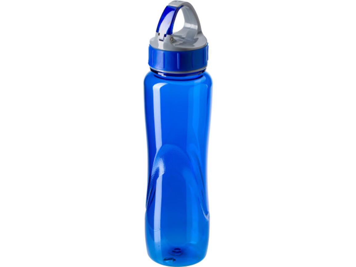 Trinkflasche ''Dynamik' aus Kunststoff – Blau bedrucken, Art.-Nr. 005999999_4293