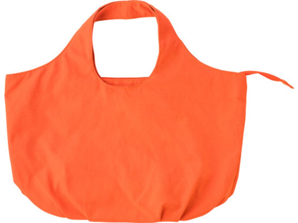 Strandtasche 'Playa' aus Baumwolle – Orange bedrucken, Art.-Nr. 007999999_4338
