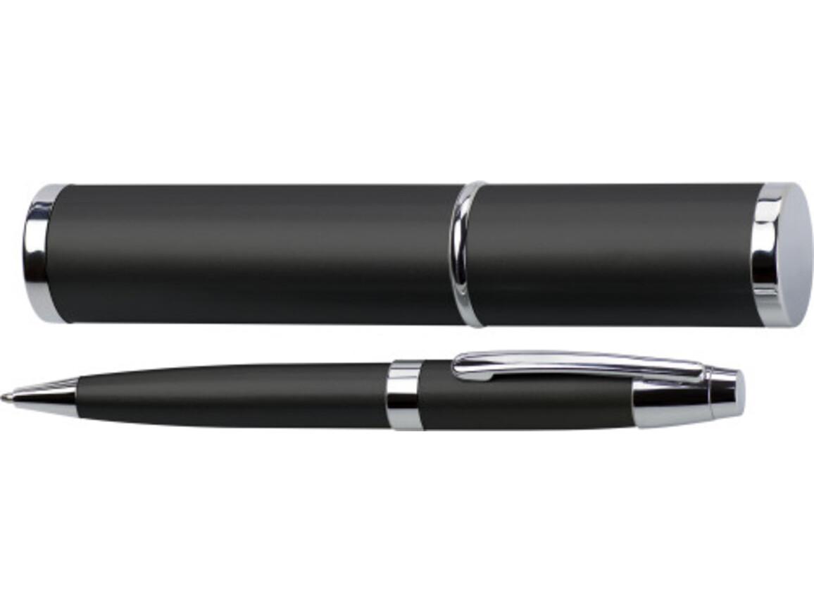 Kugelschreiber 'Big Daddy' aus Metall – Schwarz bedrucken, Art.-Nr. 001999999_4580
