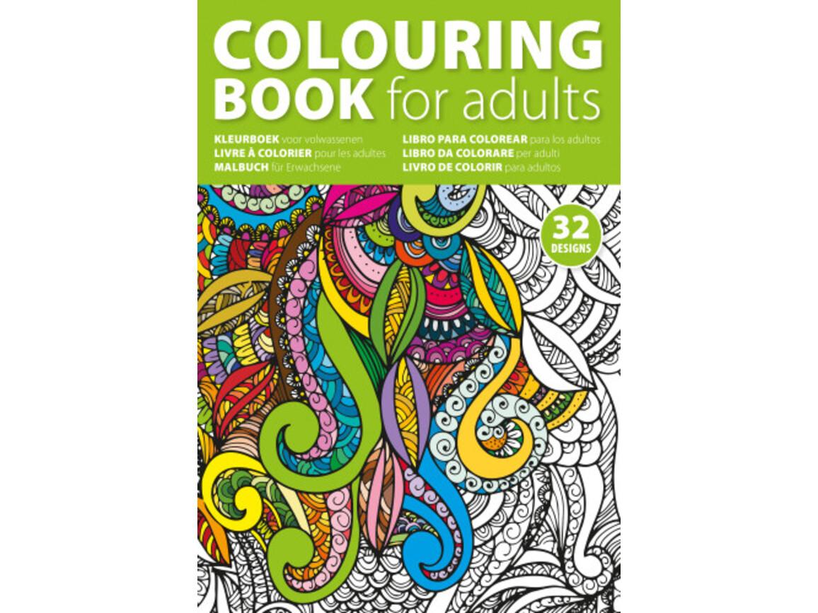 Malbuch 'Mixed' aus Papier – custom/multicolor bedrucken, Art.-Nr. 009999999_4908