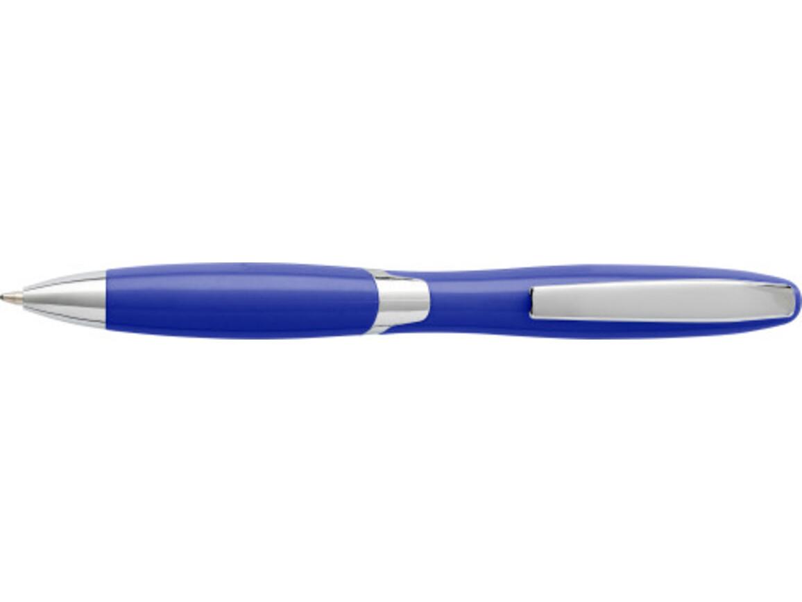 Kugelschreiber 'Arezzo' aus Kunststoff – Blau bedrucken, Art.-Nr. 005999999_4936
