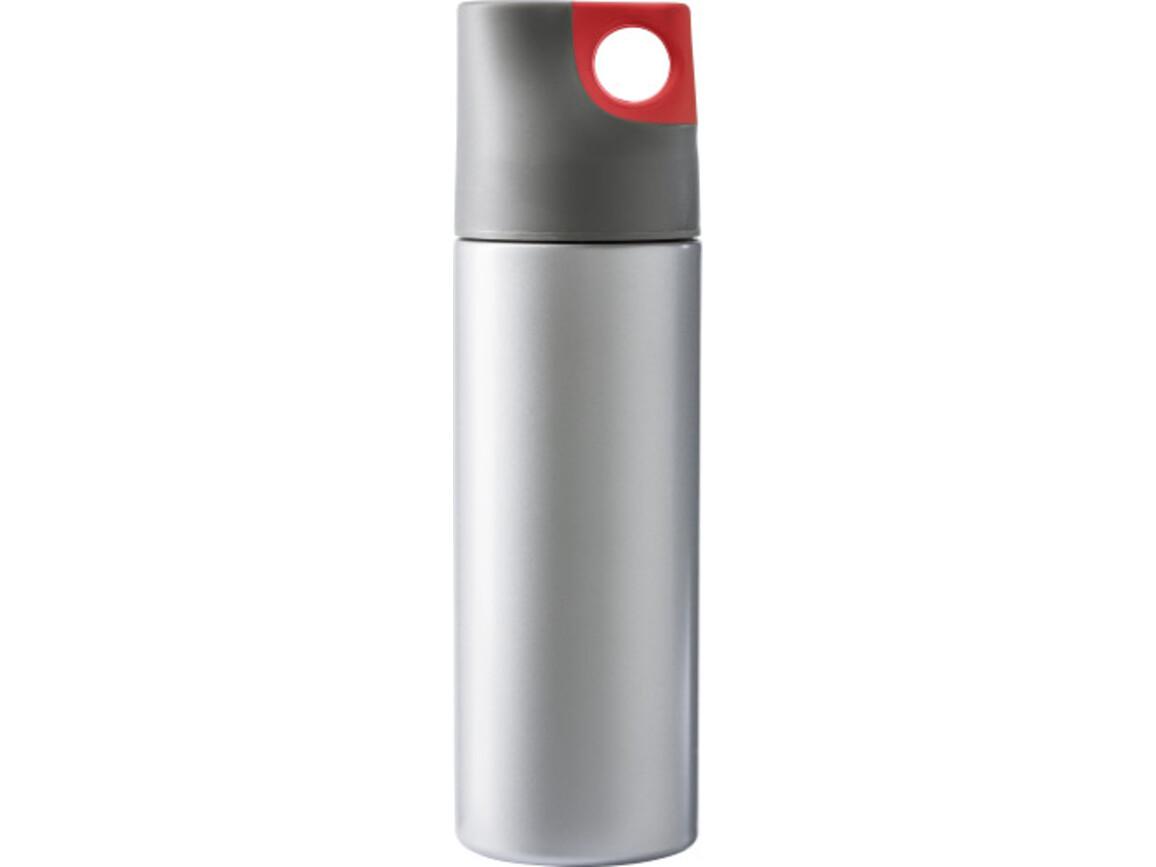 Isolierflasche 'Alabama' aus Edelstahl – Rot bedrucken, Art.-Nr. 008999999_4990
