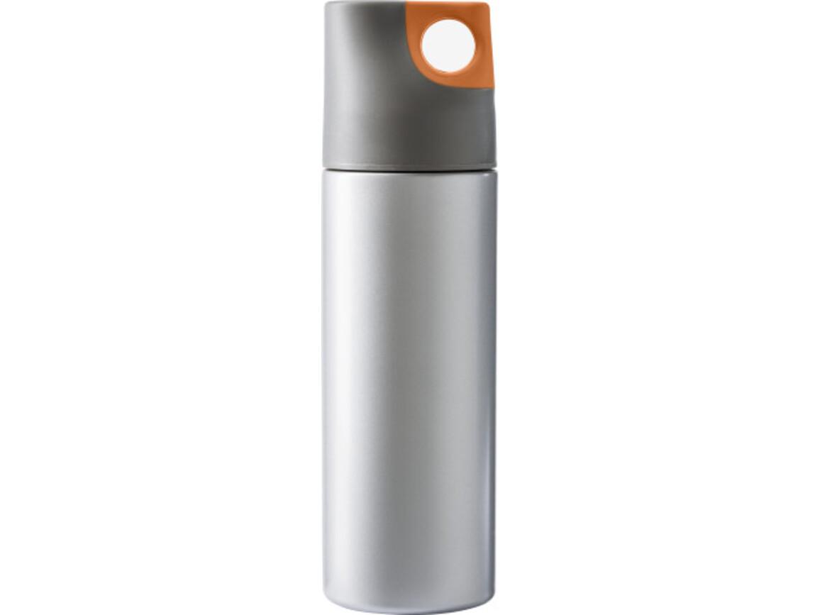 Isolierflasche 'Alabama' aus Edelstahl – Orange bedrucken, Art.-Nr. 007999999_4990