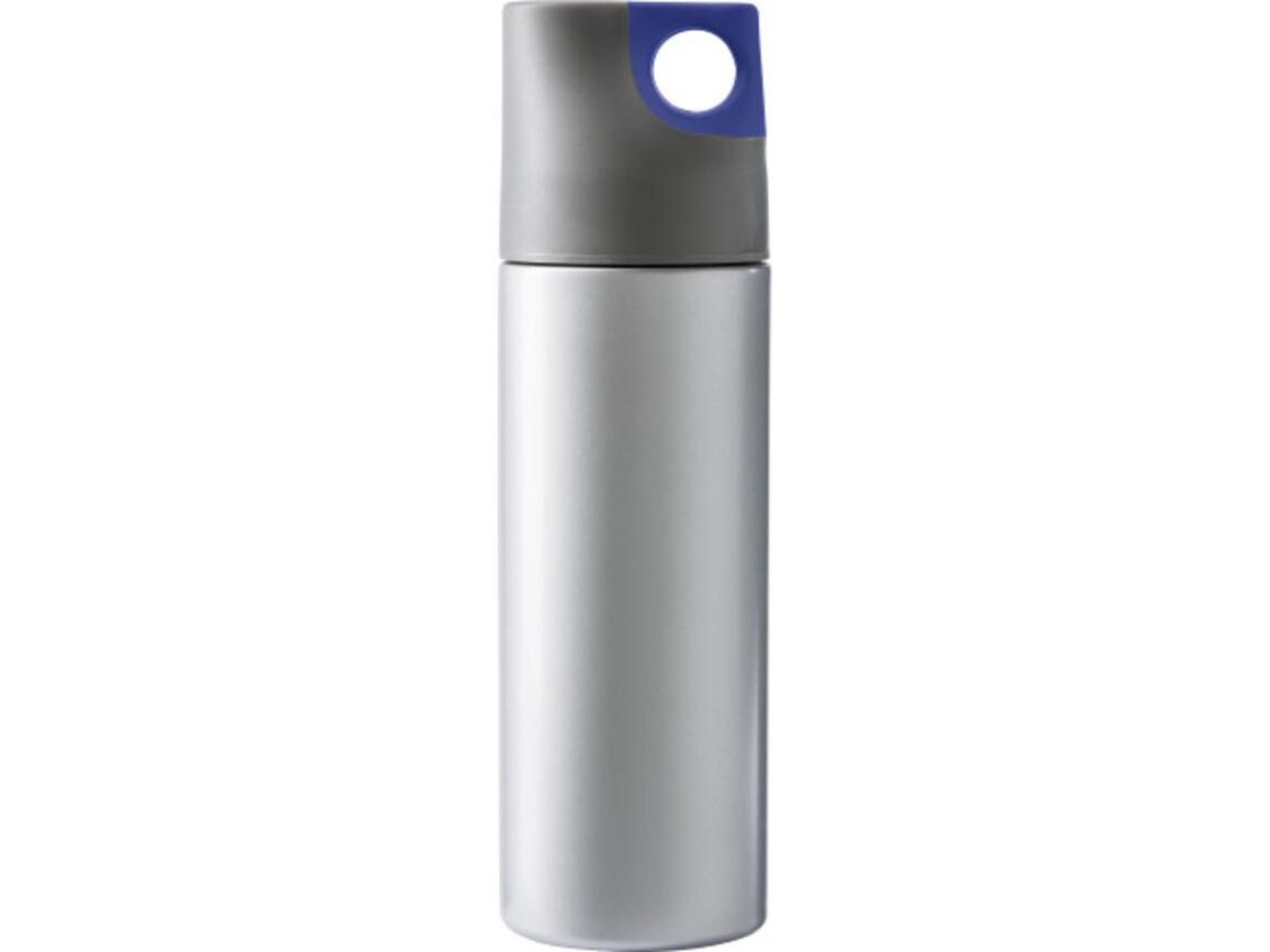 Isolierflasche 'Alabama' aus Edelstahl – Blau bedrucken, Art.-Nr. 005999999_4990