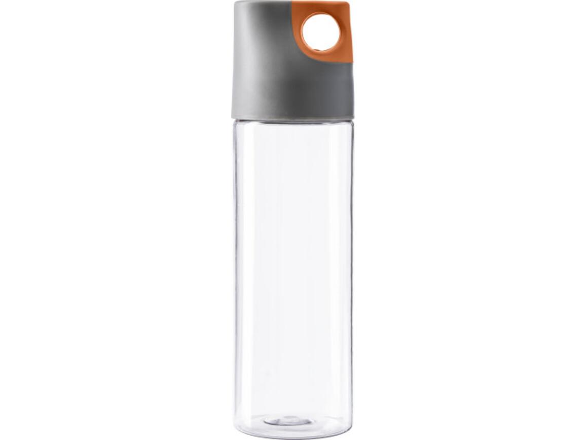 Trinkflasche 'Texas' aus Kunststoff – Orange bedrucken, Art.-Nr. 007999999_4991