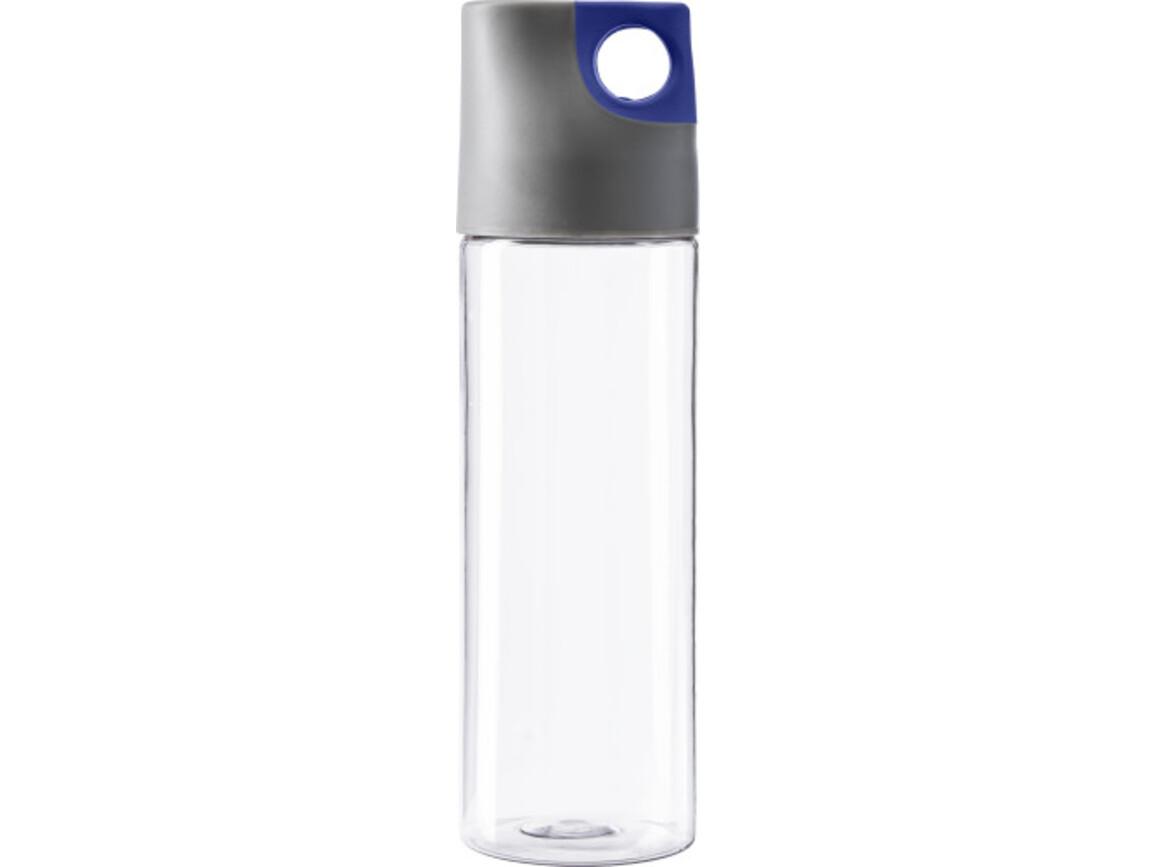 Trinkflasche 'Texas' aus Kunststoff – Blau bedrucken, Art.-Nr. 005999999_4991