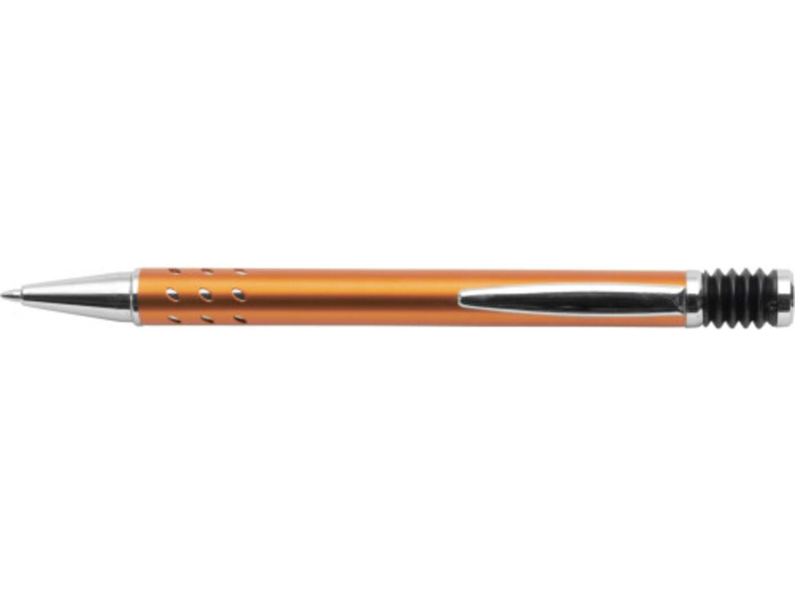 Kugelschreiber 'Atlantis' aus Aluminium – Orange bedrucken, Art.-Nr. 007999999_5223
