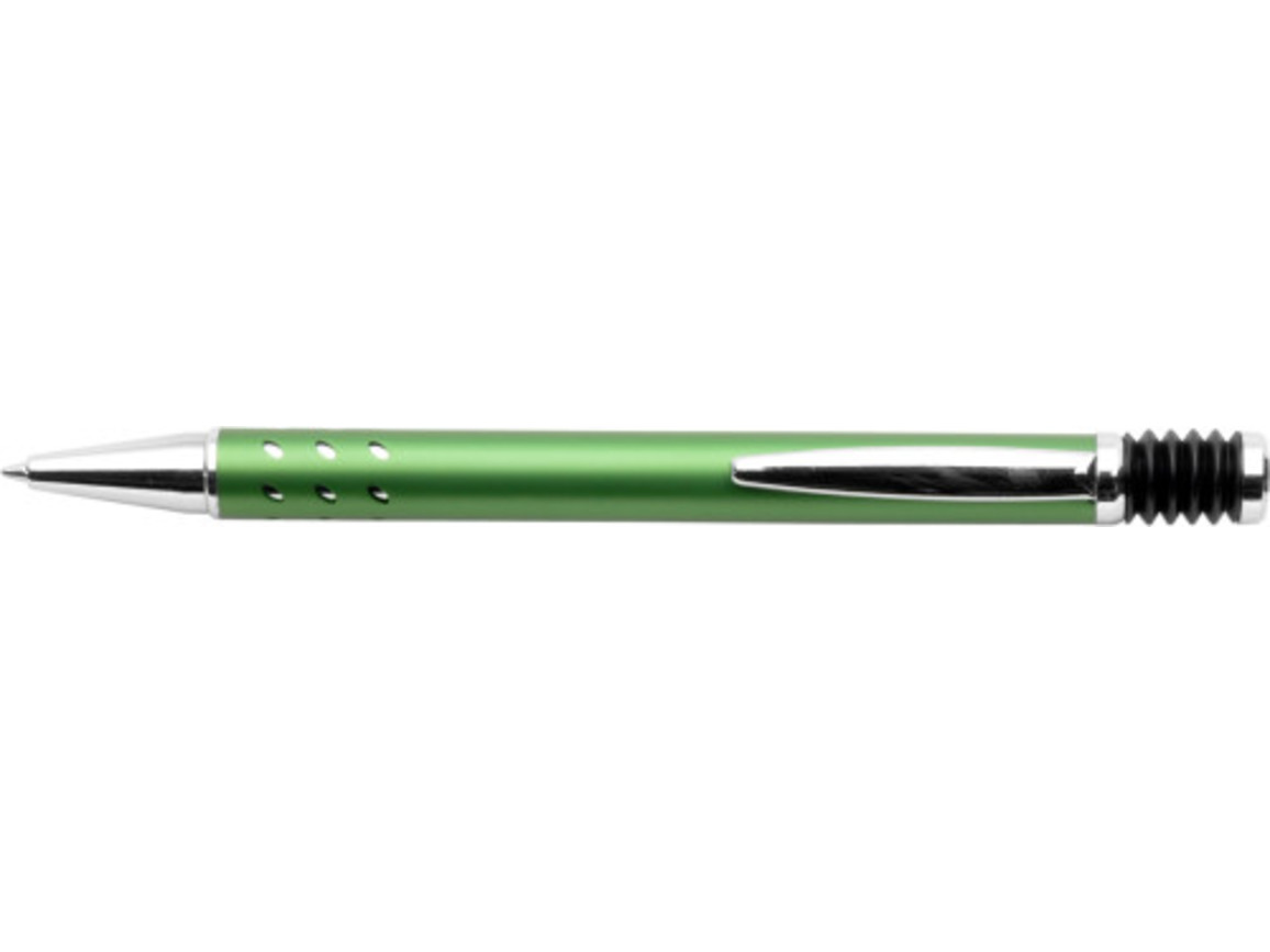 Kugelschreiber 'Atlantis' aus Aluminium – Grün bedrucken, Art.-Nr. 004999999_5223