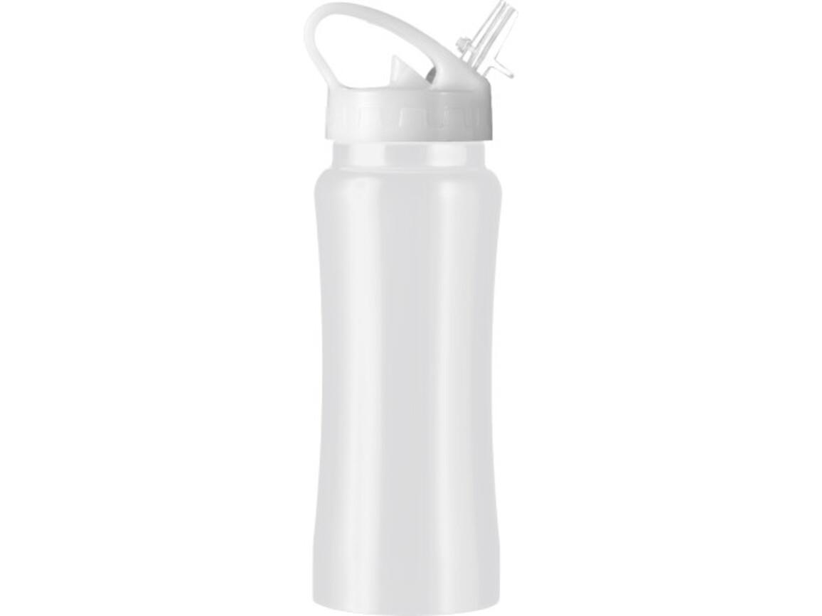 Trinkflasche 'Glauchau' aus Edelstahl – Weiß bedrucken, Art.-Nr. 002999999_5233