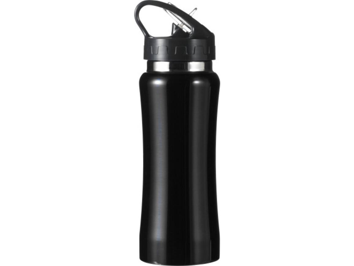 Trinkflasche 'Glauchau' aus Edelstahl – Schwarz bedrucken, Art.-Nr. 001999999_5233