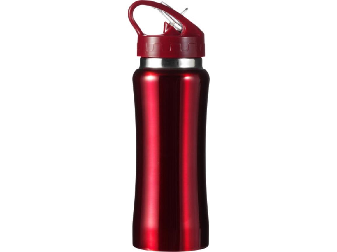 Trinkflasche 'Glauchau' aus Edelstahl – Rot bedrucken, Art.-Nr. 008999999_5233