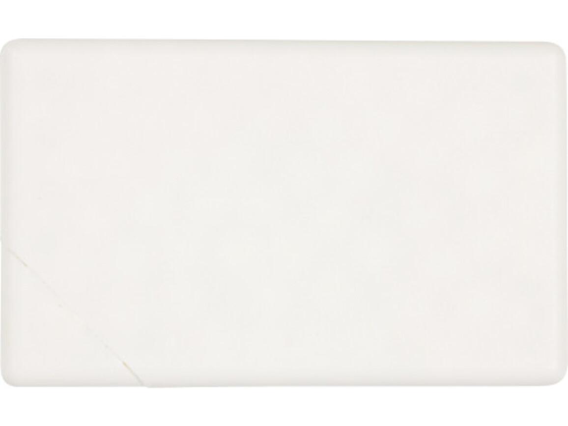Pfefferminzbonbons 'Quadro' aus Kunststoff – Weiß bedrucken, Art.-Nr. 002999999_5251