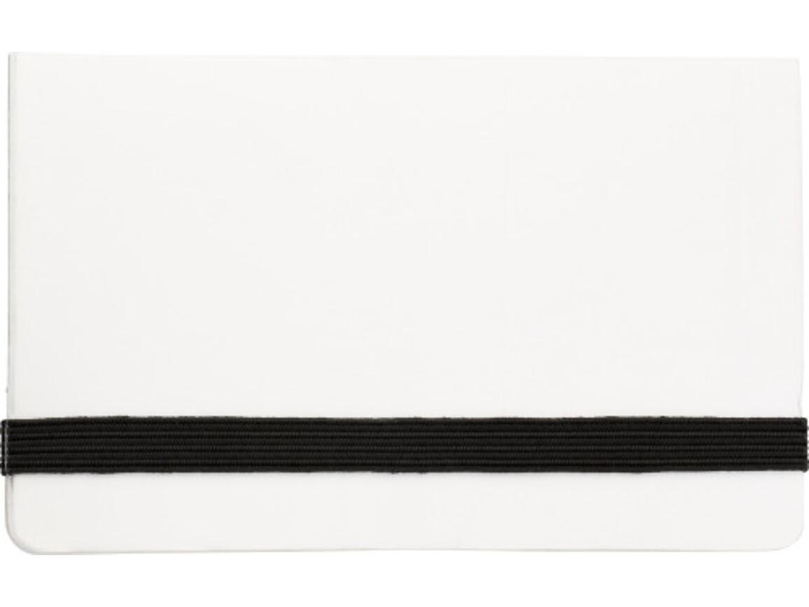 Haftnotizen 'International' aus Karton – Weiß bedrucken, Art.-Nr. 002999999_5348