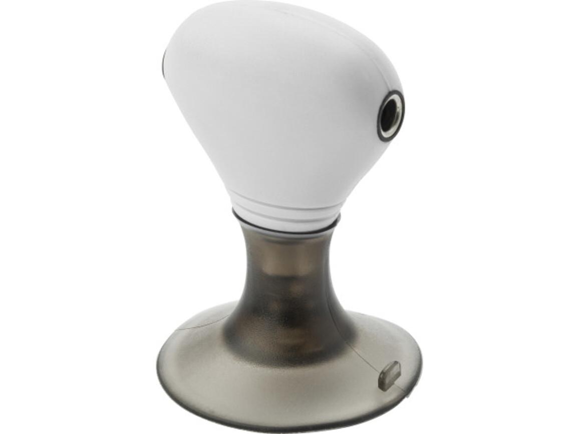 Handy-Adapter 'International' aus ABS-Kunststoff – Weiß bedrucken, Art.-Nr. 002999999_5400