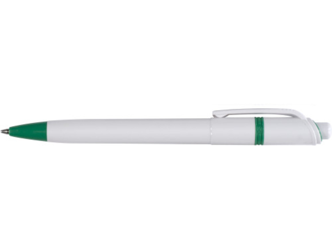 Stilolinea Kugelschreiber 'Ducal' aus Kunststoff – Grün bedrucken, Art.-Nr. 004999999_5401