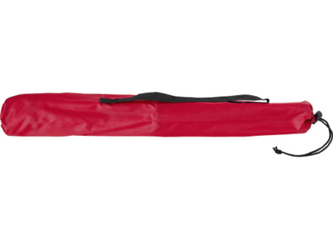 Campingstuhl 'Playa' aus Polyester – Rot bedrucken, Art.-Nr. 008999999_5411