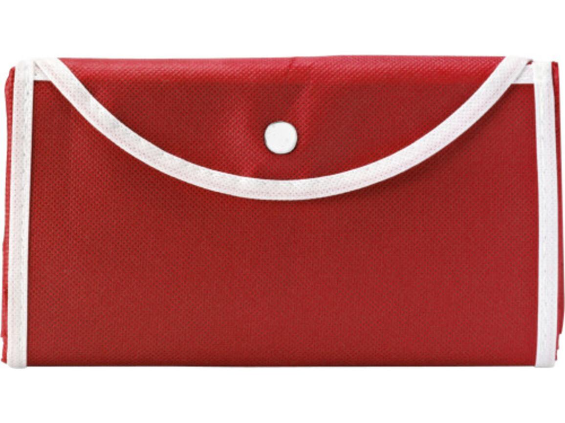 Einkaufstasche 'Wagon' aus Non-Woven – Rot bedrucken, Art.-Nr. 008999999_5619