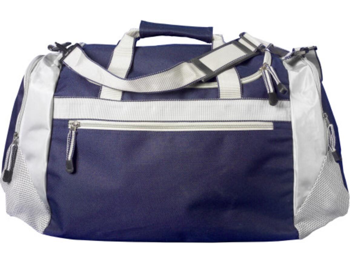 Sporttasche 'Como' aus Polyester – Blau bedrucken, Art.-Nr. 005999999_5675