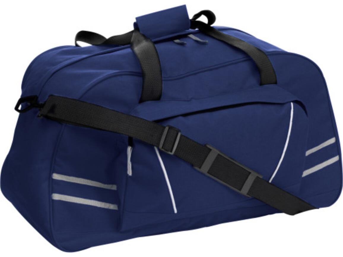 Sport-/Reisetasche 'Bogota' aus Polyester – Blau bedrucken, Art.-Nr. 005999999_5689