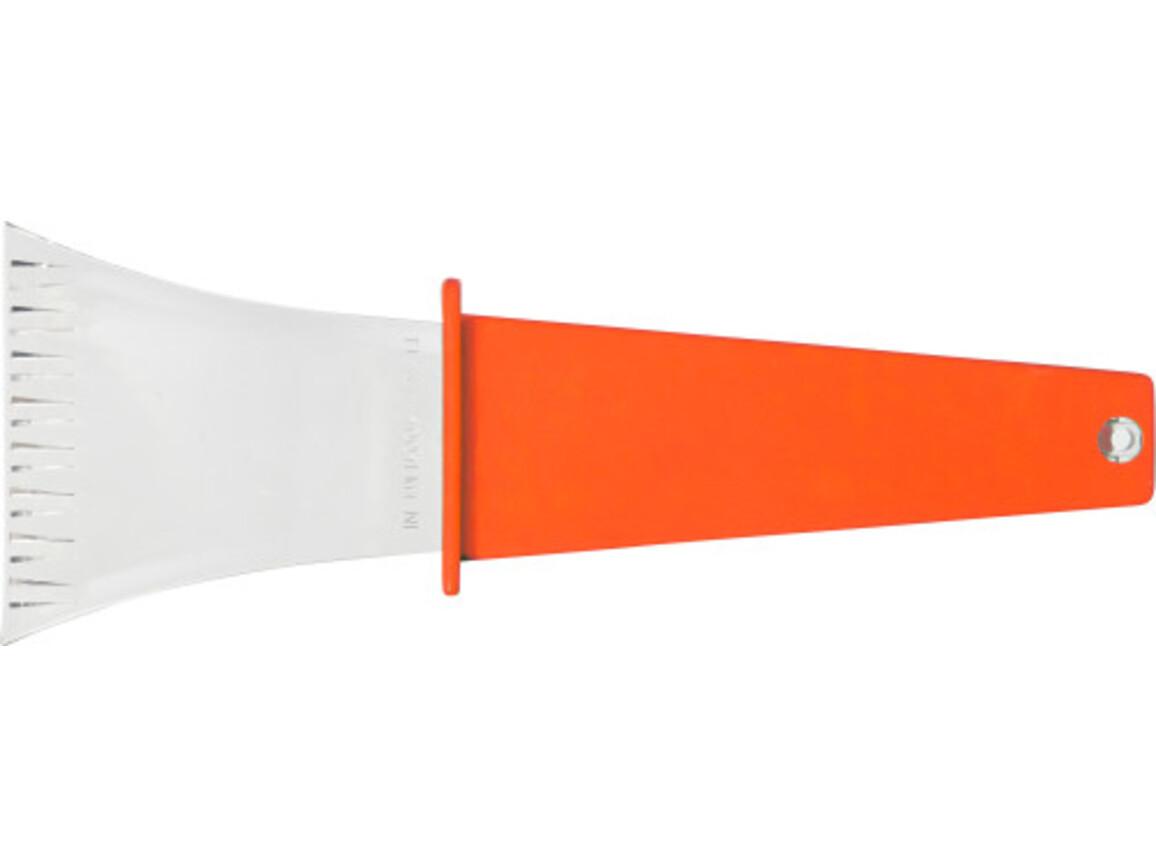 Eiskratzer 'Winston' aus Kunststoff – Orange bedrucken, Art.-Nr. 007999999_5815