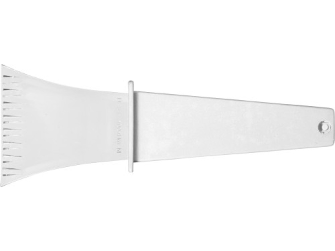 Eiskratzer 'Winston' aus Kunststoff – Weiß bedrucken, Art.-Nr. 002999999_5815