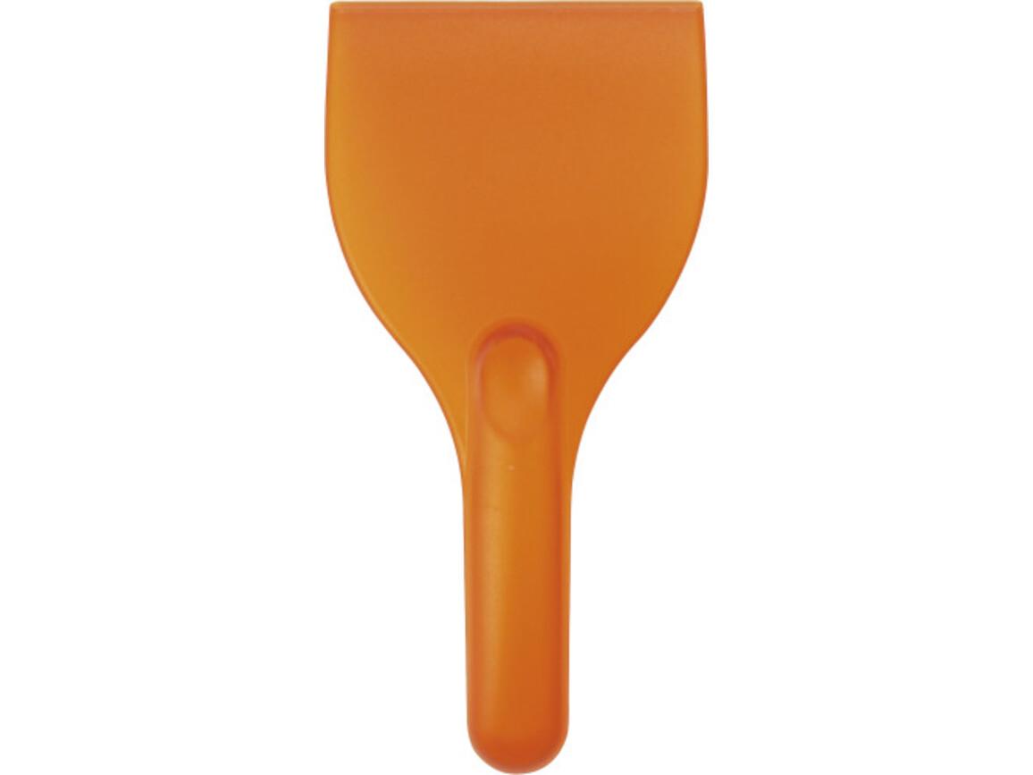 Eiskratzer 'XXL' aus Kunststoff – Orange bedrucken, Art.-Nr. 007999999_5816