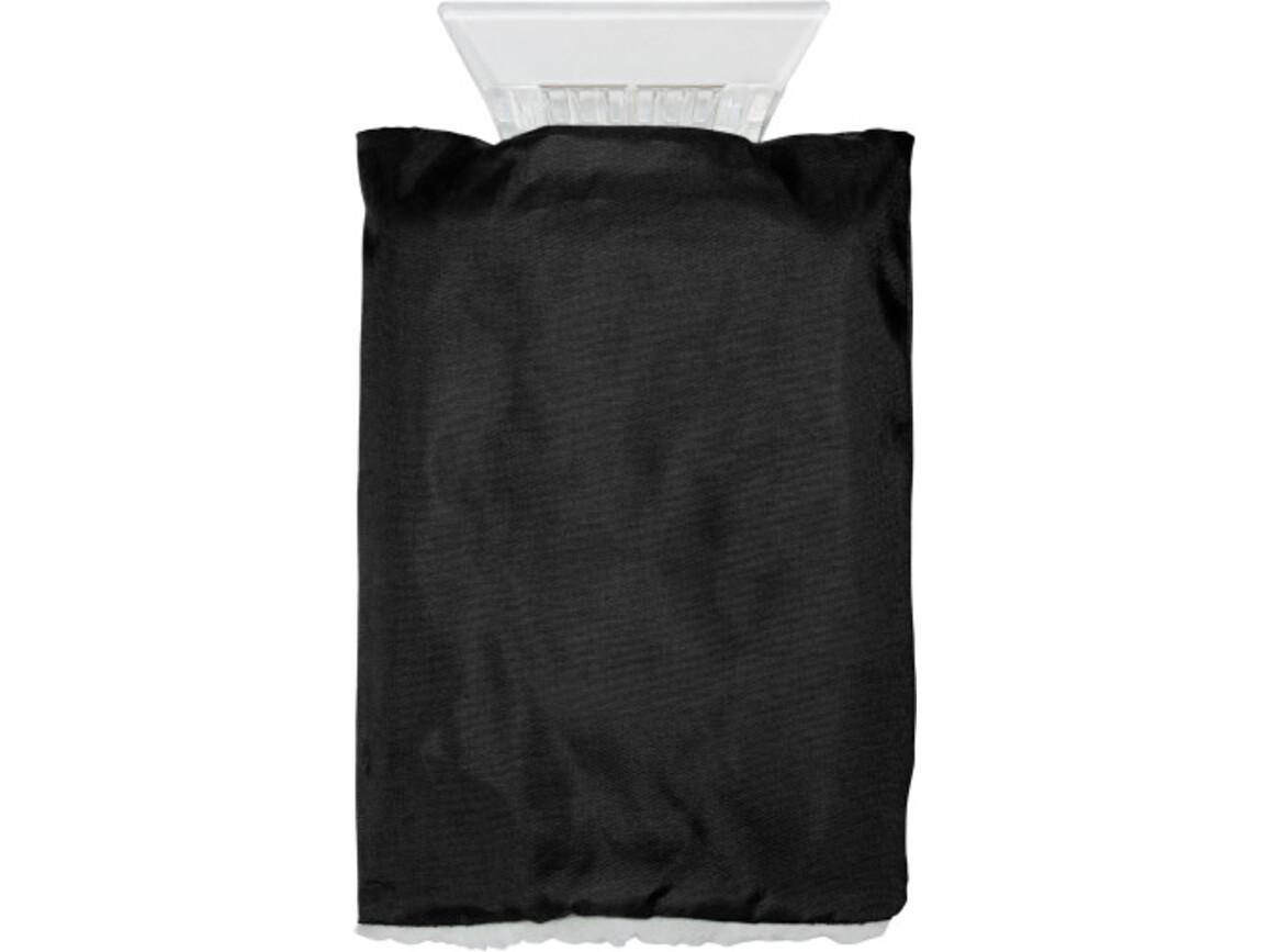 Eiskratzer 'Jersey' aus Kunststoff – Schwarz bedrucken, Art.-Nr. 001999999_5817