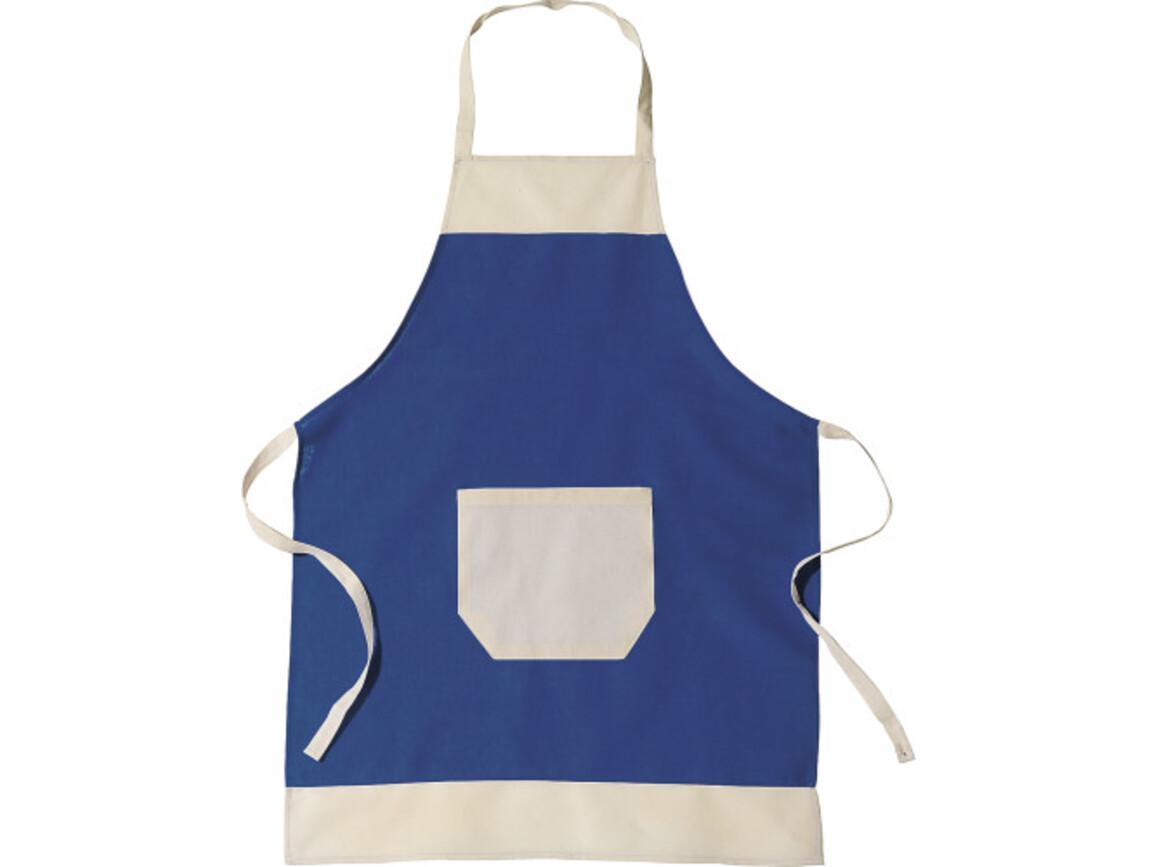 Küchen-Schürze 'Ottilie' aus Baumwolle – Blau bedrucken, Art.-Nr. 005999999_6198