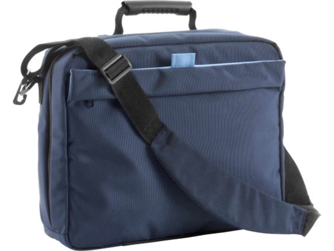 Laptoptasche/Rucksack 'Cambridge' aus Polyester – Blau bedrucken, Art.-Nr. 005999999_6209