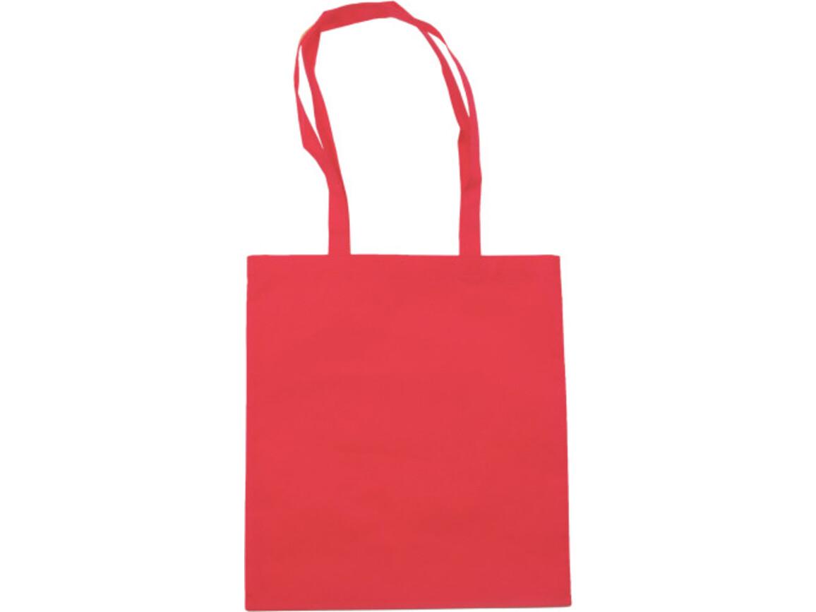 Einkaufstasche 'Berlin' aus Non-Woven – Rot bedrucken, Art.-Nr. 008999999_6227
