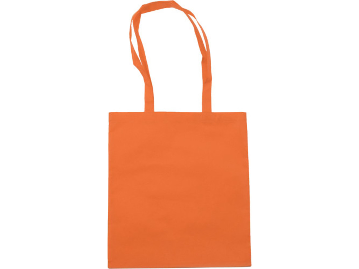Einkaufstasche 'Berlin' aus Non-Woven – Orange bedrucken, Art.-Nr. 007999999_6227