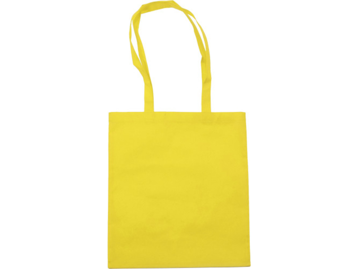 Einkaufstasche 'Berlin' aus Non-Woven – Gelb bedrucken, Art.-Nr. 006999999_6227