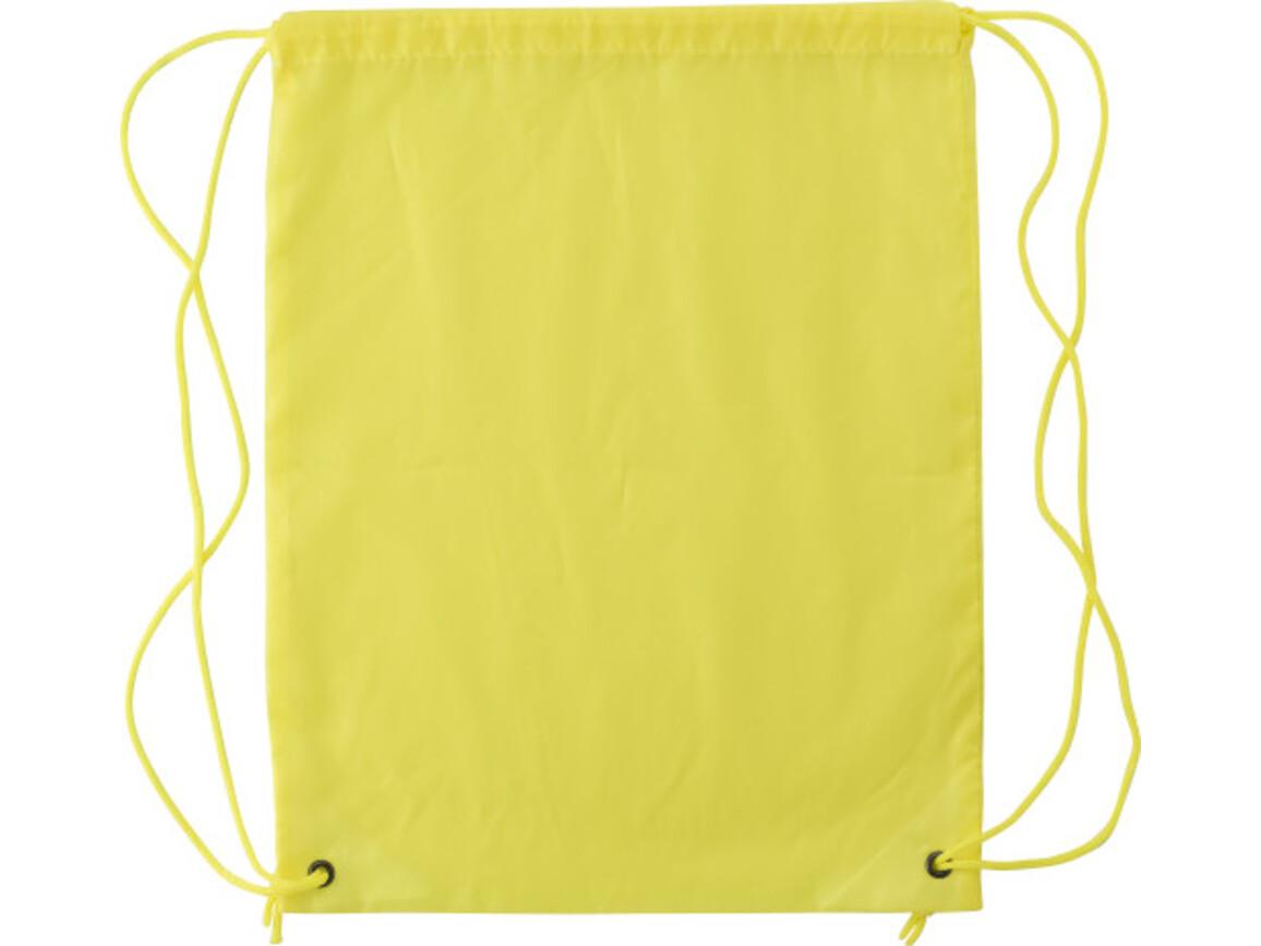 Schuh-/Rucksack (Turnbeutel) 'Bike' – Gelb bedrucken, Art.-Nr. 006999999_6242