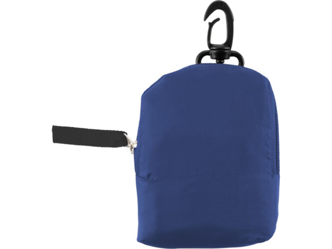 Einkaufstasche 'Pocket' aus Polyester – Blau bedrucken, Art.-Nr. 005999999_6266