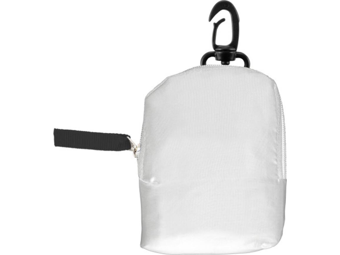 Einkaufstasche 'Pocket' aus Polyester – Weiß bedrucken, Art.-Nr. 002999999_6266
