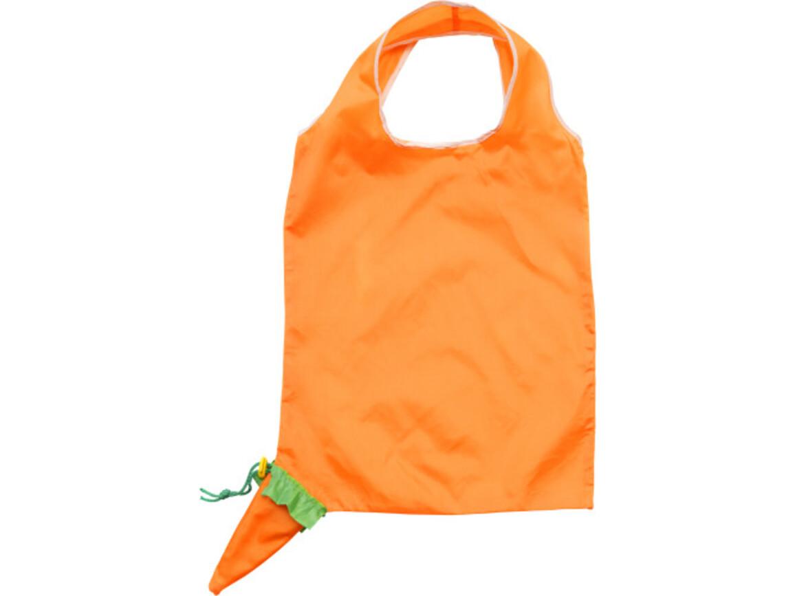 Einkaufstasche 'Fruits' aus Polyester – Orange bedrucken, Art.-Nr. 007999999_6284