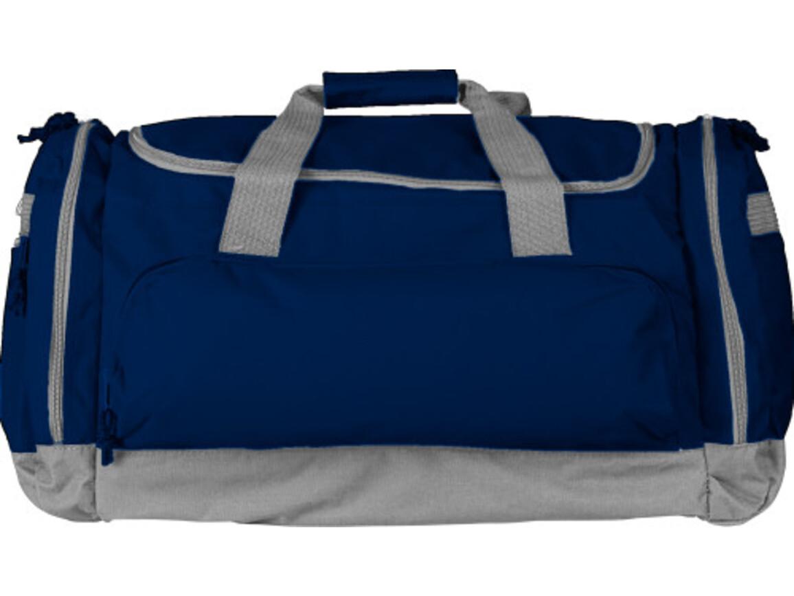 Sport-/Reisetasche 'Carribean' aus Polyester – Blau bedrucken, Art.-Nr. 005999999_6431