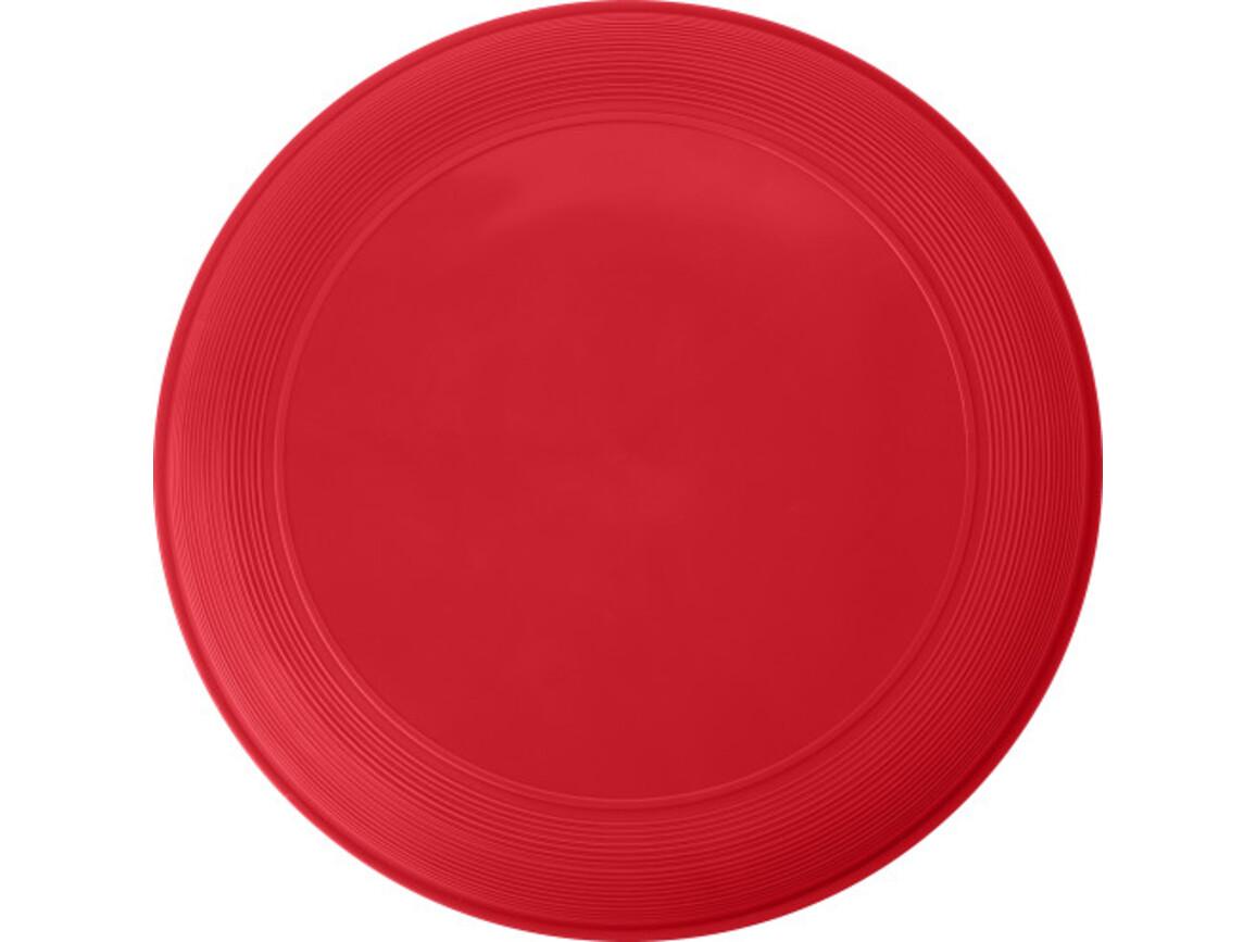 Wurfscheibe 'Sunshine' aus Kunststoff – Rot bedrucken, Art.-Nr. 008999999_6456