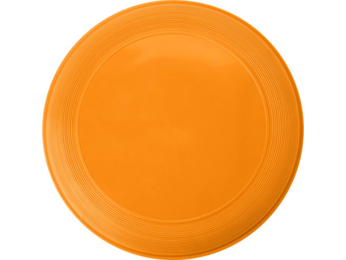 Wurfscheibe 'Sunshine' aus Kunststoff – Orange bedrucken, Art.-Nr. 007999999_6456