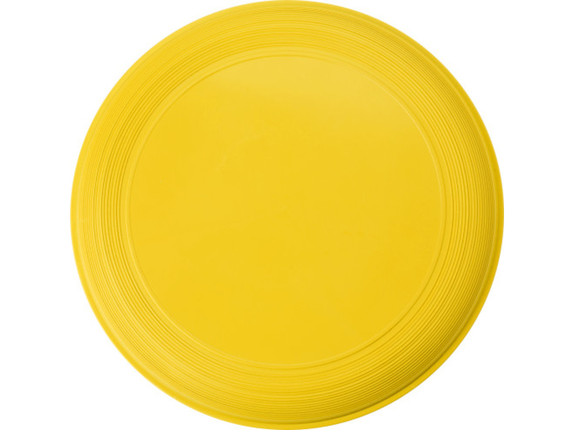 Wurfscheibe 'Sunshine' aus Kunststoff – Gelb bedrucken, Art.-Nr. 006999999_6456