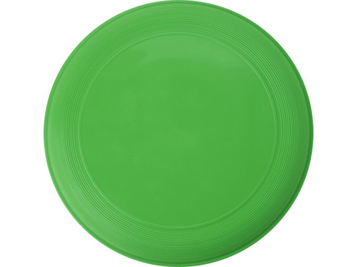 Wurfscheibe 'Sunshine' aus Kunststoff – Grün bedrucken, Art.-Nr. 004999999_6456