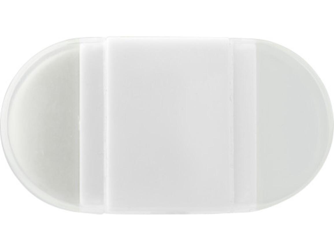 Anspitzer 'Pocket' aus Kunststoff – Weiß bedrucken, Art.-Nr. 002999999_6458