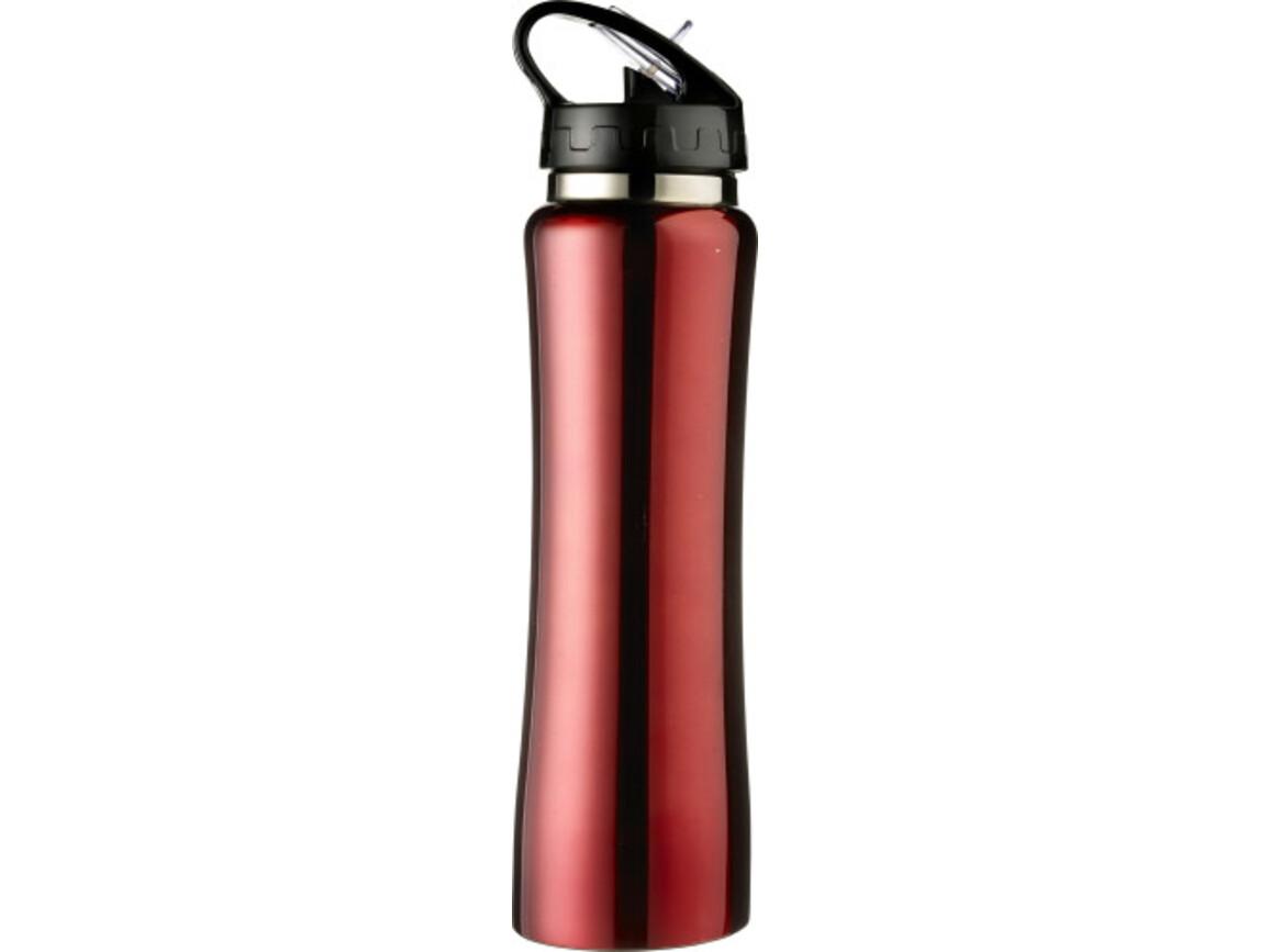 Trinkflasche 'Austin' aus Edelstahl – Rot bedrucken, Art.-Nr. 008999999_6535