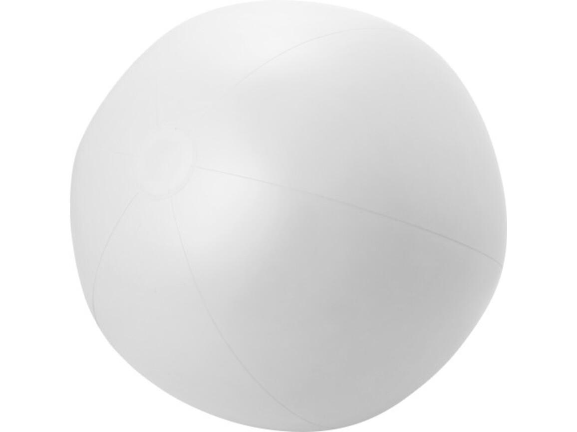 Aufblasbarer Wasserball 'XXL' aus PVC – Weiß bedrucken, Art.-Nr. 002999999_6537