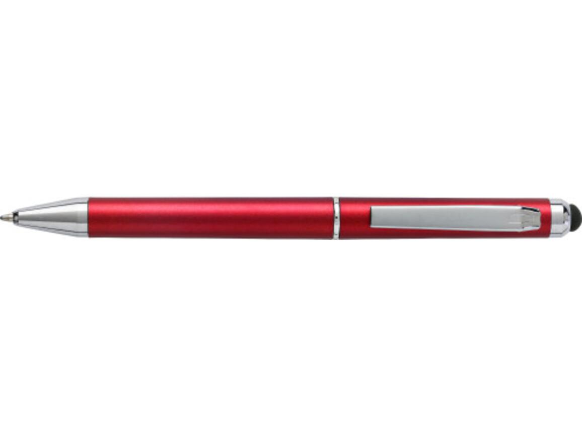 Kugelschreiber 'Livorno' aus Kunststoff – Rot bedrucken, Art.-Nr. 008999999_6540