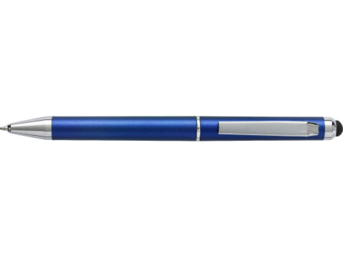 Kugelschreiber 'Livorno' aus Kunststoff – Blau bedrucken, Art.-Nr. 005999999_6540