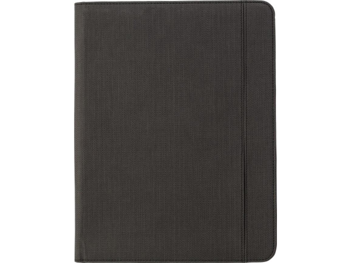 Dokumentenmappe 'Selection' aus PU – Grau bedrucken, Art.-Nr. 003999999_6729